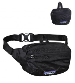 Patagonia LW Travel Bum bag black / 1L / 99g / 36x24x45cm