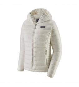 Plumón W's Down Sweater Hoody blanco