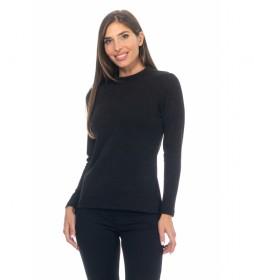 Blusa Lisa Punto negro