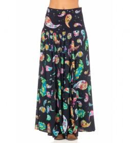 Falda Estampada multicolor