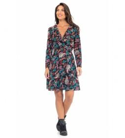 Vestido Estampado Viscosa multicolor