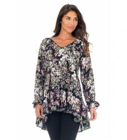 Blusa Estampado Floral  multicolor