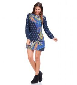Vestido Mara azul