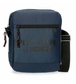 Bandolera Portatablet Pepe Jeans Bromley azul -23x27x6cm-