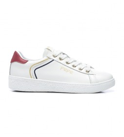 Zapatillas de piel Roxy Arch blanco