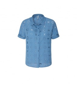 Camisa Lara azul