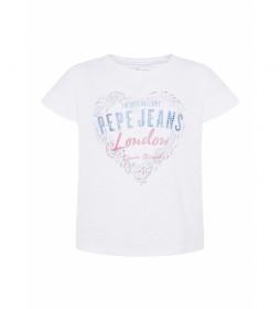 Camiseta Piper blanco