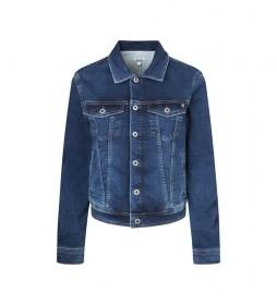Cazadora Vaquera Core Jacket azul