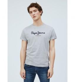 Camiseta Básica Logo Eggo gris