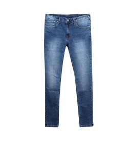 Jeans Finsbury Skinny azul