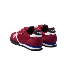 Zapatillas de piel Holland Serie 1 rojo