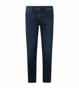 Jeans Finbury Skinny Fit Low Waist marino