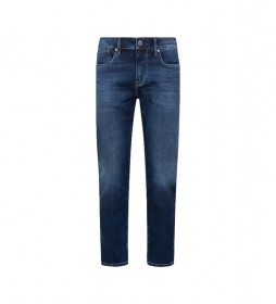 Jeans Hatch 5PKT Slim Fit Low Waist marino