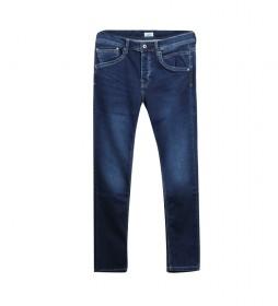 Jeans Track Regular Fit azul