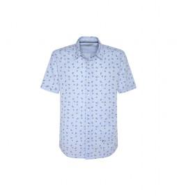 Camisa Melvin azul