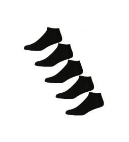 Pack de 5 Calcetines  Dan negro