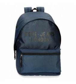 Mochila para portátil Pepe Jeans Bromley Azul