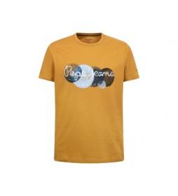 Camiseta Sacha mostaza
