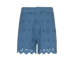 Shorts Nora azul