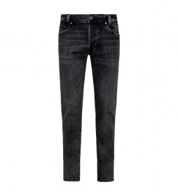 Jeans Spike negro