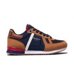 Zapatillas Sydney Combi marrón