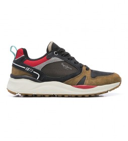 Zapatillas de piel Trail Light Low marrón