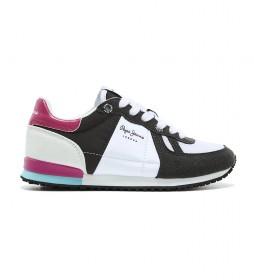 Zapatillas Sydney Basic Girl negro, blanco