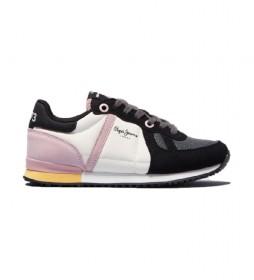 Zapatillas  Sydney Combi Girl negro, blanco, rosa