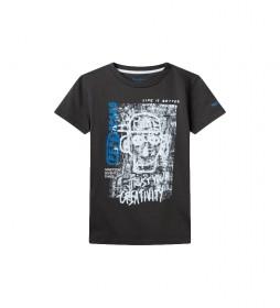 Camiseta graffiti Alan negro