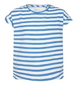 Camiseta rayas Alexa azul, blanco