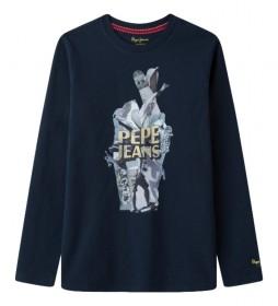 Camiseta Alexis marino