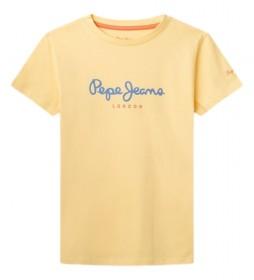 Camiseta Art New amarillo