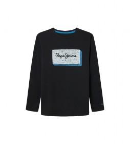Camiseta Asier negro