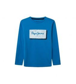 Camiseta Asier azul