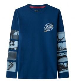 Camiseta Austin azul