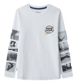 Camiseta Austin blanco