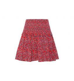 Minifalda Dani rojo
