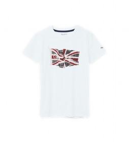Camiseta Flag blanco