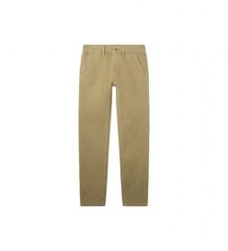 Pantalón Chino Greenwich beige