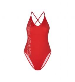 Bañador Leonore rojo