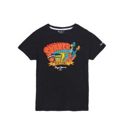 Camiseta Logan negro
