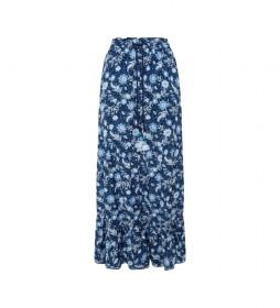 Falda Margot azul