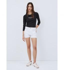 Shorts Denim Mary blanco