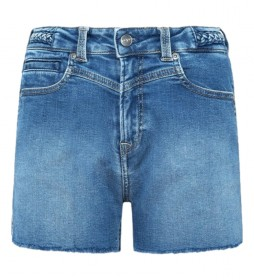 Shorts Mary denim azul