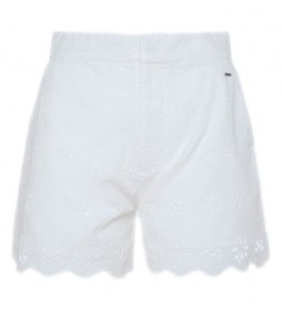 Shorts Nora blanco