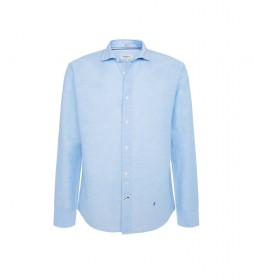 Camisa Patrick azul