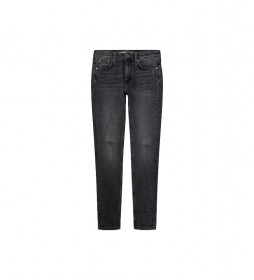 Jeans Pixlette High Skinny Fit High Waist gris oscuro