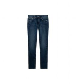 Jeans Pixlette High Skinny High Wist marino