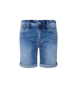 Shorts Denim Poppy azul