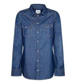 Camisa Rhonda denim azul